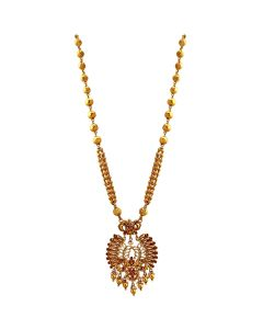 201VA1184 | Exquisite Lakshmi Gold Necklace