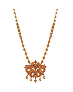 201VA1202 | Dazzling Rose Gold Necklace