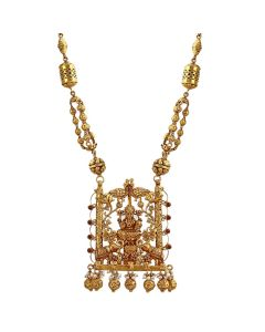 201VA1206 | Timeless Lakshmi Gold Necklace