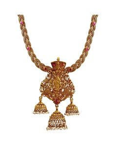 201VA1232 | Lord Krishna Gold Necklace