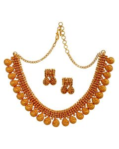 123VG3384 | Paisely Showstopper Necklace
