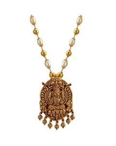 127VG3022 | Vikriti Beaded Gold Necklace