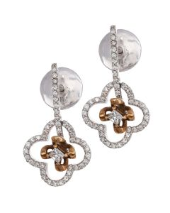 155B763 | Dazzling Whitegold Diamond Earrings