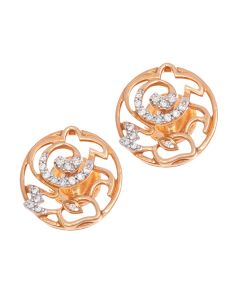 155B874 | Delightful Rabbit Diamond Studs Earrings