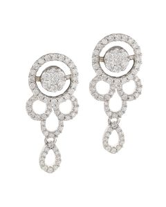 155G2753 | Dainty Drop Diamond Earring