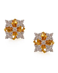 155MG5300 | Aristocrat Flower Cluster Diamond Studs
