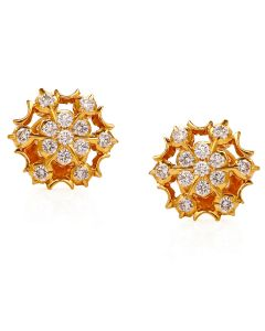 158G71 | Sunny Brilliance Diamond Studs Earring
