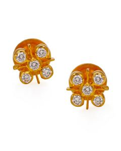 158VG449 | 22 KT Diamond Earrings