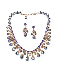 159VG2159 | Blue Glitzy Necklace
