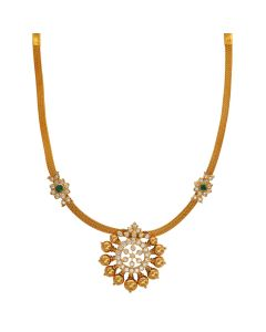 162VG83 | Traditional Chakra Gold Necklace