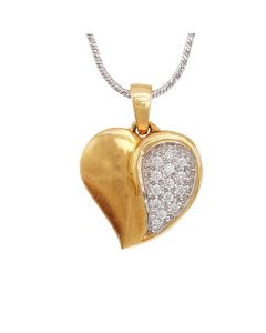 166A4999 | Diamond Heart Pendant
