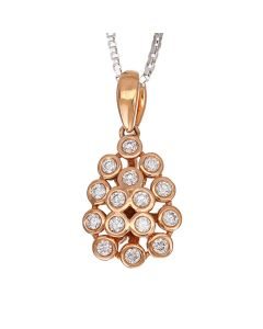 166G860 | Amalgamation Diamond Pendant