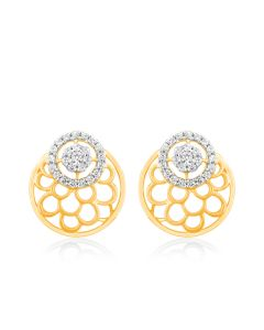 JES34800Q | Shining Bubble Diamond Studs Earring