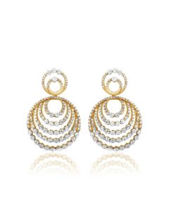 JEF092646 | Septaloops Diamond Earrings