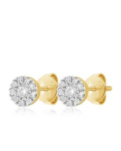 JEN06530F | Nebula Diamond Studs Earrings