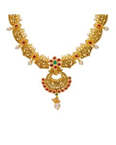 123VG3803 | Illuminated Antique Gold Necklace