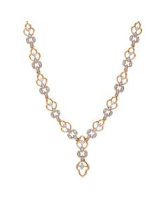 159VG2404 | Cufflink Diamond Necklace