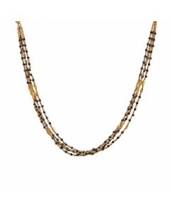 68MH7496 | 22K Fancy Gold Mangalsutra 68MH7496