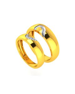 VCR725 | The Unity Heart Gold Bands
