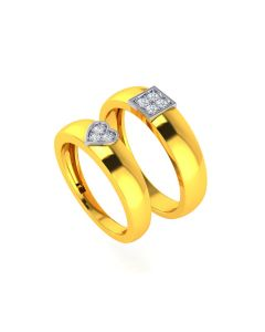 VCR727 | 22k King &Queen Love Gold Bands