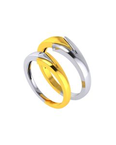 VCR735 | The Dual Patterned Couple Rings