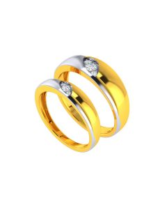 VCR737 | The Olive Connection Couple Rings