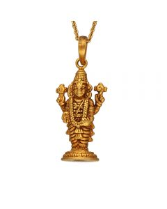 561VA153 | Antique Gold Venkateswara Temple Pendant  561VA153