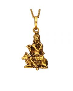561VA179 | Antique Gold Krishna Pendant 561VA179