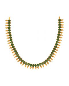 110VG4657 | 22K Precious Emerald Necklace  110VG4657