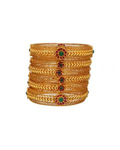 125VG708 | 22K Antique Bangles  125VG708