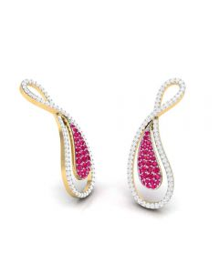 VBJ-8523ER | Vaibhav Jewellers 18K  Diamond Danglers Earrings VBJ-8523ER