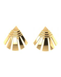 VER-1096 | Vaibhav Jewellers 14K Yellow Gold Studs Earrings VER-1096