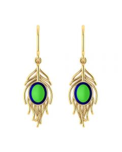 VER-2000 | Vaibhav Jewellers 14K Yellow Gold Drops Earrings VER-2000