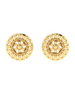 VER-2010 | Vaibhav Jewellers 14K Yellow Gold Studs Earrings VER-2010