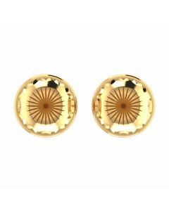 VER-2012 | Vaibhav Jewellers 14K Yellow Gold Studs Earrings VER-2012