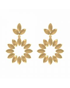 VER-2035 | Vaibhav Jewellers 18K Yellow Gold Studs Earrings VER-2035