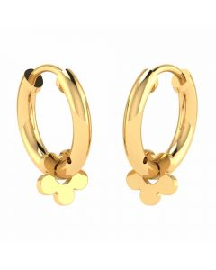 VER-2049 | Vaibhav Jewellers 22K Yellow Gold Huggies Earrings VER-2049