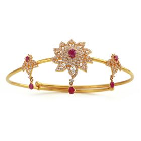 Ruby Floral Gold Vanki