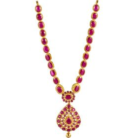 Inspiring Ruby Gold Necklace