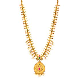 22K  Gemstone Delight Necklace