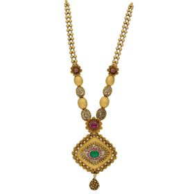 Abstract Antique Gold Haram