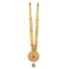 22K Traditional Antique Gold Haram