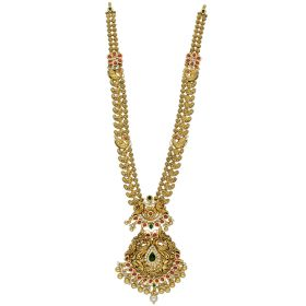 Paisley Charmed Antique Gold Haram