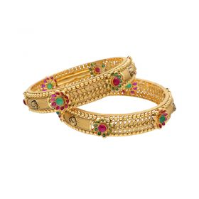22K Eclectic Antique Bangles