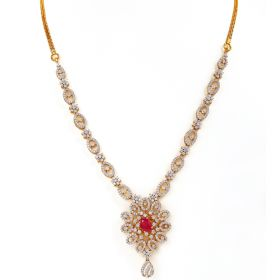 Floral Scents Diamond Necklace