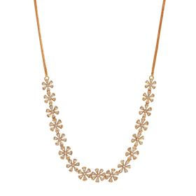 Flower Bouquet Diamond Necklace