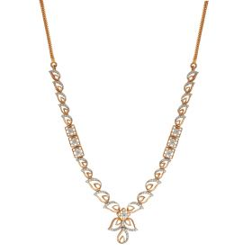 Enthralling Paisley Diamond Necklace