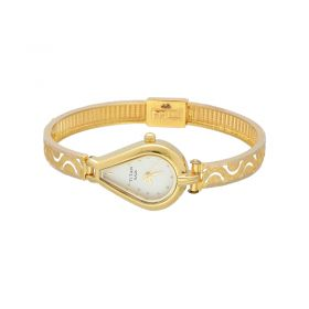 22K Plain Gold Titan Raga Women Watch 15VG62