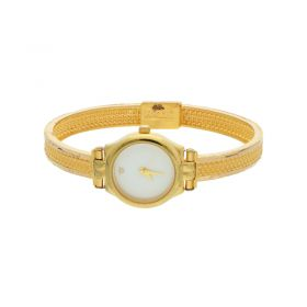 22K Plain Gold Women Watch 15VG63