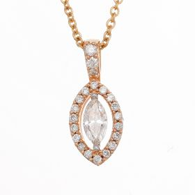 Mystifying Marquise Diamond Pendant